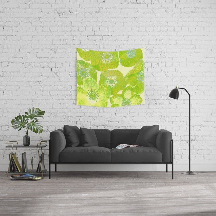 hellebore Wall Tapestry