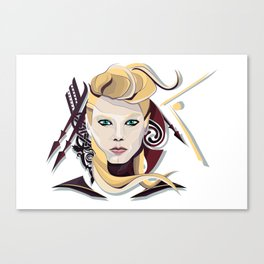 Queen Lagertha Canvas Print