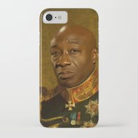 replaceface iPhone & iPod Cases featuring Michael Clarke Duncan - replaceface by replaceface