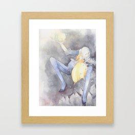 Father Moon Framed Art Print