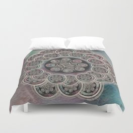 Electric Moon Duvet Cover