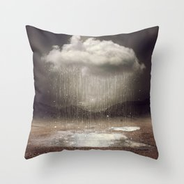 It's Okay. Even the Sky Cries Sometimes. Throw Pillow
