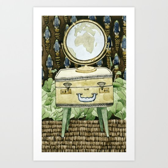 Travel Dreams Art Print