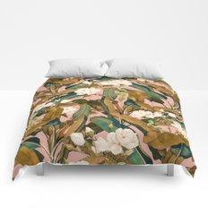 Summer Botanical Garden V Comforters