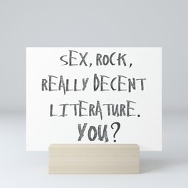 You? Mini Art Print
