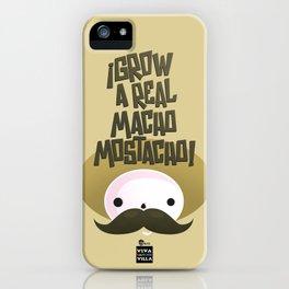 macho mostacho  iPhone Case
