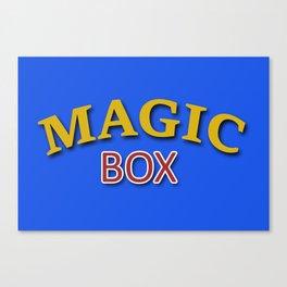 The Magic Box Canvas Print