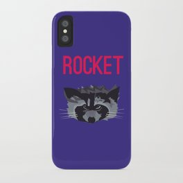 R IS FOR ROCKET, R IS FOR RACOON iPhone Case