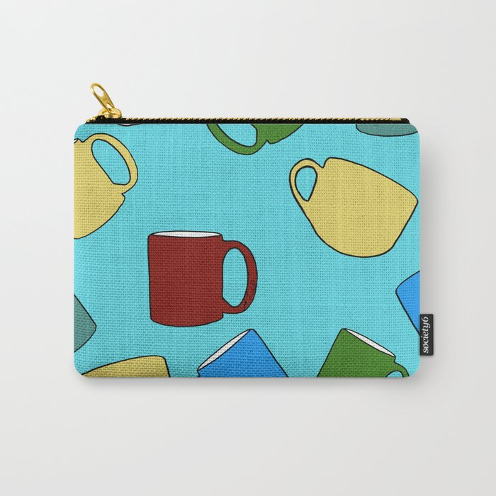 Coffee Mugs! Carry-All Pouch