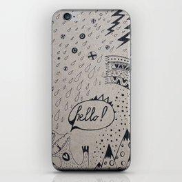 HELLO! iPhone Skin