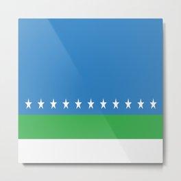 Flag of San Jose Costa Rica Metal Print