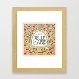 Belle Mare Buzzsession Cover Art Framed Art Print