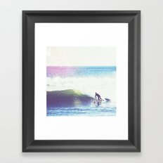 Vintage Tide Framed Art Print