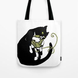 Cats&Yarn - Black Butler Tote Bag