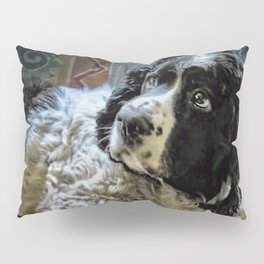 Hunter The Sprocker Pillow Sham