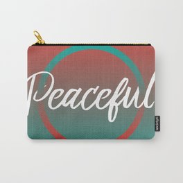 Peaceful - Feelings series Carry-All Pouch