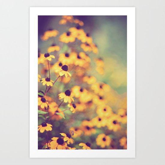 bright-eyed Art Print