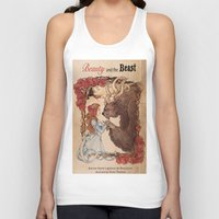 beauty and the beast Tank Tops featuring Beauty and the beast by Anna Thomas