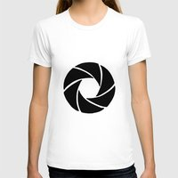 aperture T-shirts featuring Aperture by PlayWithFireDieInIce