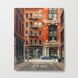 Staple Street 01 Metal Print