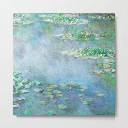 Monet Water Lilies / Nymphéas 1906 Metal Print