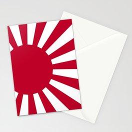 Japanese Flag Stationery Cards