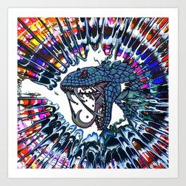 Breaking Glass  Art Print
