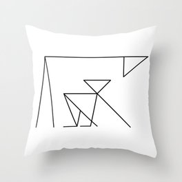 Parental Control Throw Pillow
