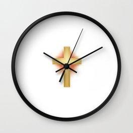 God Is Good All the Time Christian T-shirt Christian Shirt Wall Clock