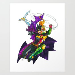 Batgirl : Robin Legacy Art Print