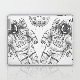astro Traveller Retro Laptop & iPad Skin