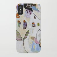 """flora bowley iPhone & iPod Cases featuring """"Letting Go"""" Original Painting by Flora Bowley by Flora Bowley"""