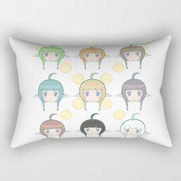 Daughter to Dragons Rectangular Pillow