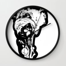 Negative - Emilie Record Wall Clock