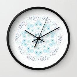 Spring breeze mandala Wall Clock