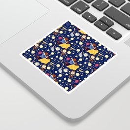 Be Our Guest Pattern Sticker