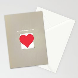 My Heart bleeds for you Stationery Cards