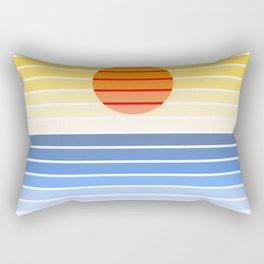 abstract sea Rectangular Pillow