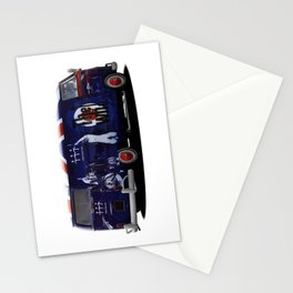 vw campervan The magic bus Stationery Cards