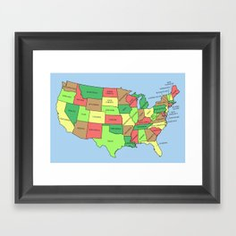 This Land Isn't Your Land Framed Art Print