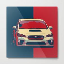 Subaru Ilustration Metal Print