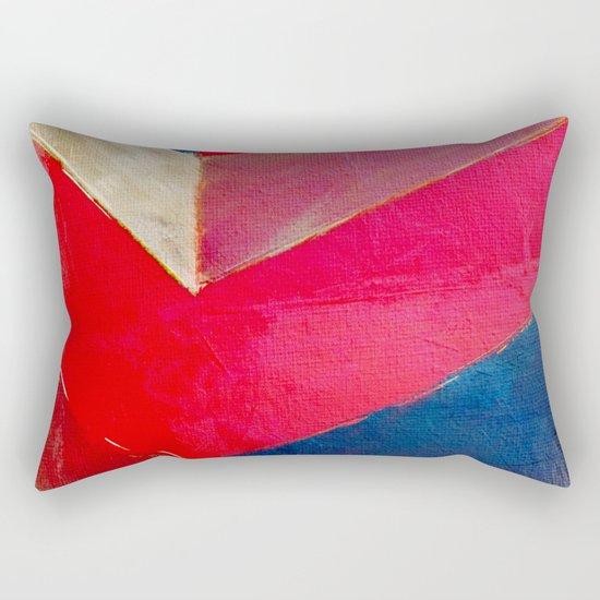 The River of Pink Sand Rectangular Pillow