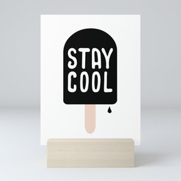 Stay cool - softice Mini Art Print
