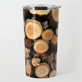 Woodpile Travel Mug