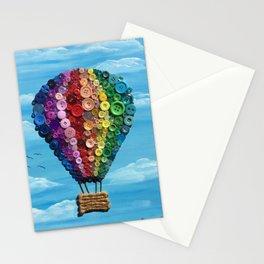 Button Balloon Stationery Cards