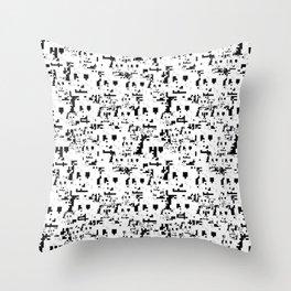 HyperFace Anti-Surveillance Throw Pillow