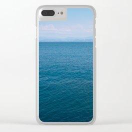 PHOTOGRAPHY / SKY & OCEAN 01 Clear iPhone Case