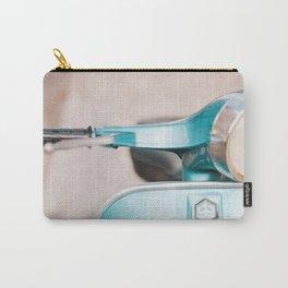 Blue Vespa Carry-All Pouch