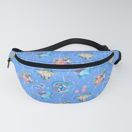 Water Pattern Fanny Pack
