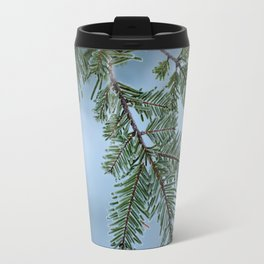 Frosty Tree Branch Travel Mug